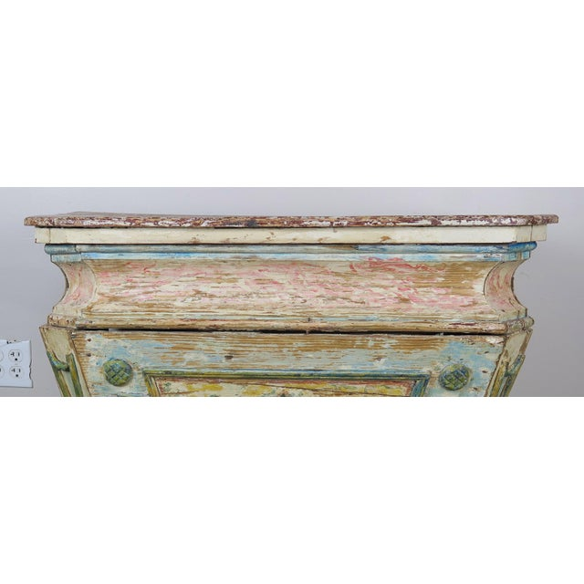 Baroque 19th Century Italian Painted Altar Table For Sale - Image 3 of 10
