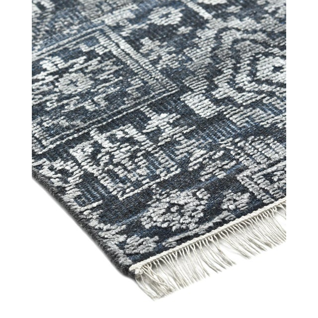 Color: Navy. Made in: India. Bridging the gap between traditional and modern, the Transitional collection features rugs...