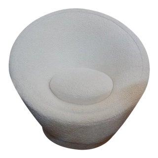 Iconic Pierre Paulin Organic Modern Mushroom Swivel Chair For Sale