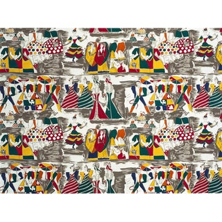 Balletto Alla Scala Fabric by Gio Ponti For Sale