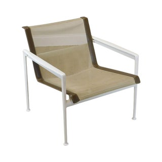 Knoll Richard Schultz 1966 Patio Lounge Chair with Arms For Sale