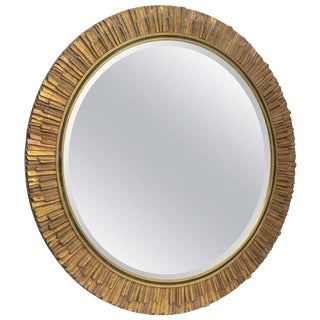 Gilt Sunburst Mirror Italy For Sale