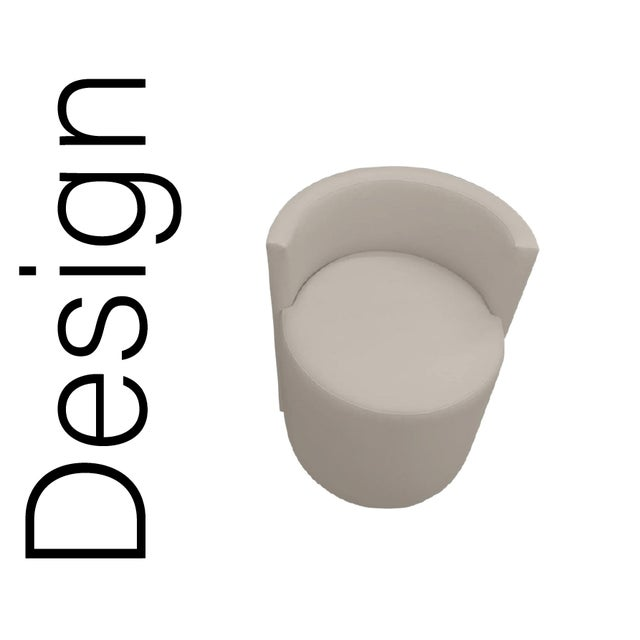 """Style - """"The Drums"""" Foam foam foam"""" Upholstered - foam core interior on upholstered deck Fabric - Blended Linen. Color -..."""