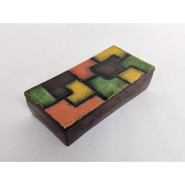 Italian Raymor Ceramic Box - Image 9 of 9