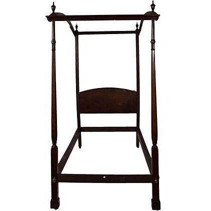 English Canape Twin Bed Circa 1880 - Image 2 of 2