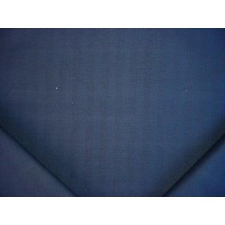 Ralph Lauren Lcf66625f Franklin Herringbone Blue Drapery Upholstery Fabric - 3y For Sale