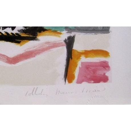 Pablo Picasso - Portrait D'Homme Lithograph - Image 2 of 2