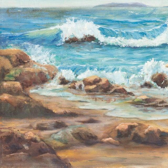 Catalina Island from Malibu by O.J.Walsh, 1955 - Image 2 of 5