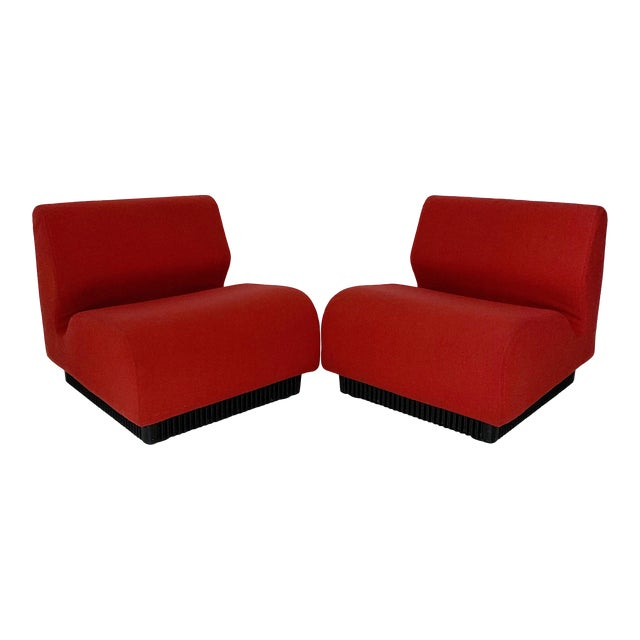 1970's Vintage Don Chadwick for Herman Miller Modular Lounge Chairs - a Pair For Sale