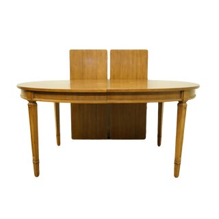 """20th Century Italian Century Furniture 100"""" Dining Table For Sale"""