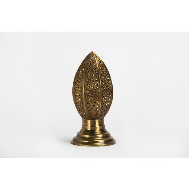 Egg-Shape Copper Casablanca Lamp - Image 2 of 5