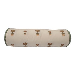 21st Century Modern Neck-roll Pillow For Sale