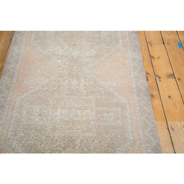 "Distressed Oushak Rug Runner - 3'5"" X 10'9"" - Image 7 of 8"