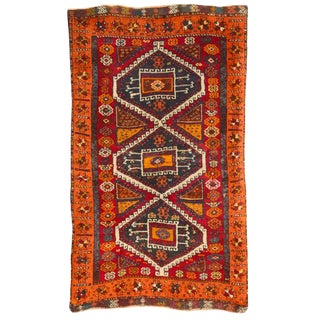 Antique Turkish Yuruk Rug For Sale