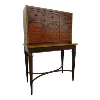 1970s Traditional Thomasville Secretary Desk For Sale
