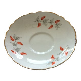 Crown Staffordshire Bone China Saucer Plate For Sale