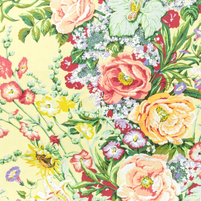 This is a vintage Bassett McNab floral design last printed in 1992. This is last of its kind and will no longer be...