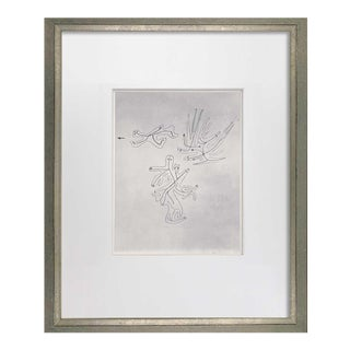 """Paul Klee Lithograph Ltd Edition """"Spirits of the Air"""" For Sale"""
