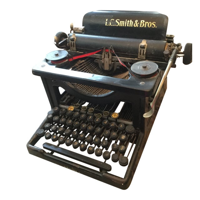 Antique Smith Brothers Typewriter For Sale