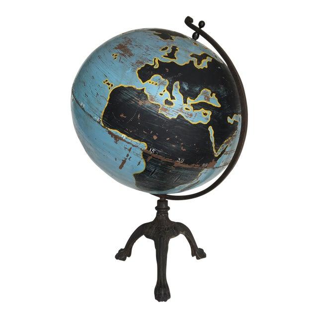 Aviation Globe on Iron Base - Image 1 of 5