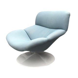 1980s F518 Swivel Armchair by Geoffrey Harcourt for Artifort For Sale