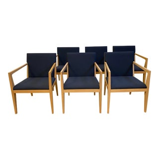 Ofs Balance Arm Chairs - Set of 6 For Sale