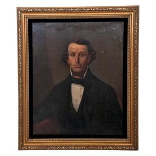 Circa 1850 Portrait Painting of Gentleman