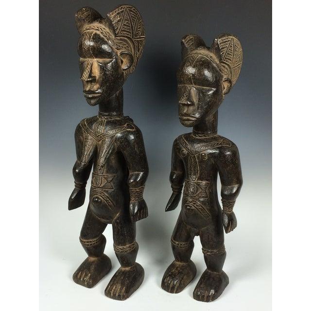 Ivory Coast African Dan Statues - A Par - Image 10 of 11