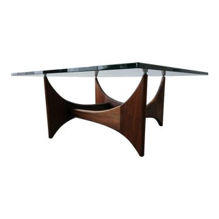 Mid Century Sculptural Walnut Coffee Table by Adrian Pearsall For Sale