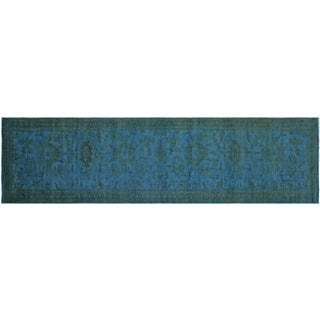 "Egyptian Overdyed Runner - 3'1"" X 13'10"""