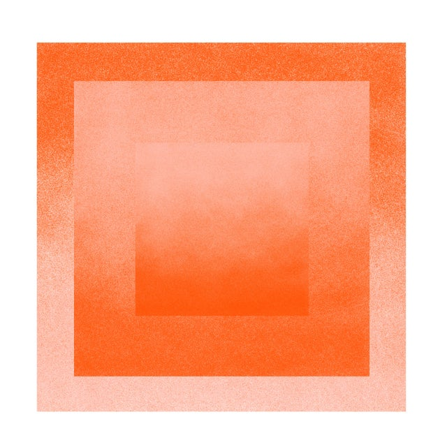 Jessica Poundstone Peach & Tigerlily: Color Space Series Print - Image 3 of 3