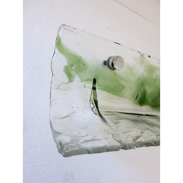 Italian Murano Glass Bathroom Set by Mazzega For Sale - Image 12 of 13