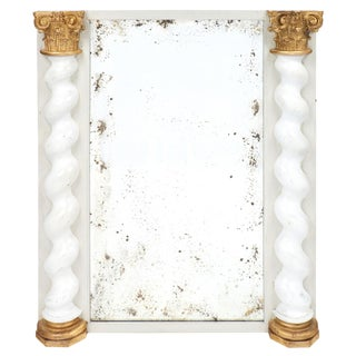 18th Century Italian Baroque Boiserie Mirror