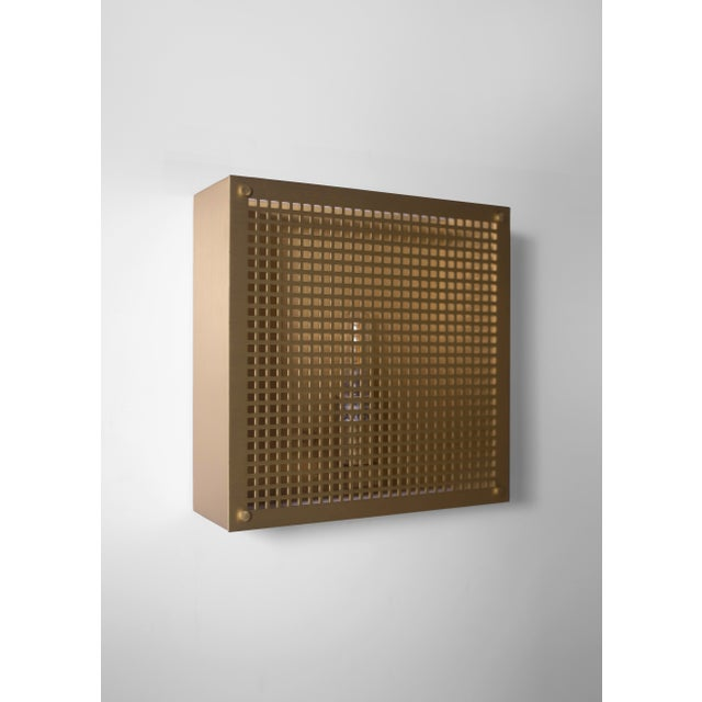 Orphan Work Modern Contemporary 000 Sconce in Brass by Orphan Work For Sale - Image 4 of 8
