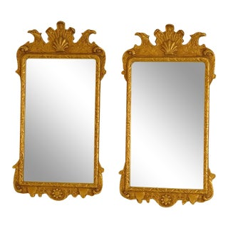 Friedman Brothers Vintage Colonial Williamsburg Mirrors - A Pair For Sale