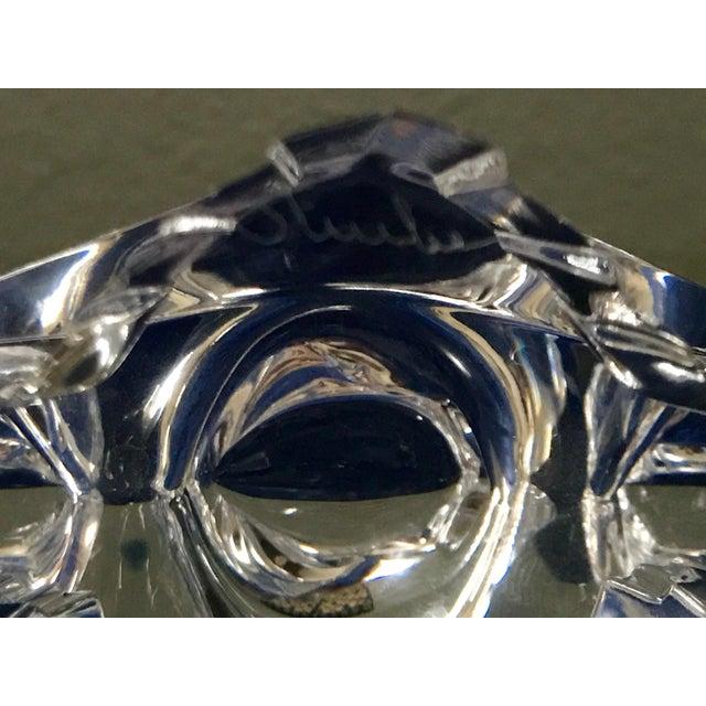 Transparent Vintage Lloyd Atkins for Steuben Crystal Eagle Figurine For Sale - Image 8 of 9