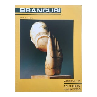 Constantin Brancusi Rare Vintage 1989 1st Edtn Modernism Sculpture Collector's Monograph Art Book For Sale
