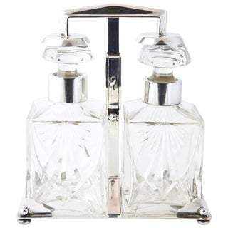 Wmf Art Deco Tantalus Decanter Set For Sale