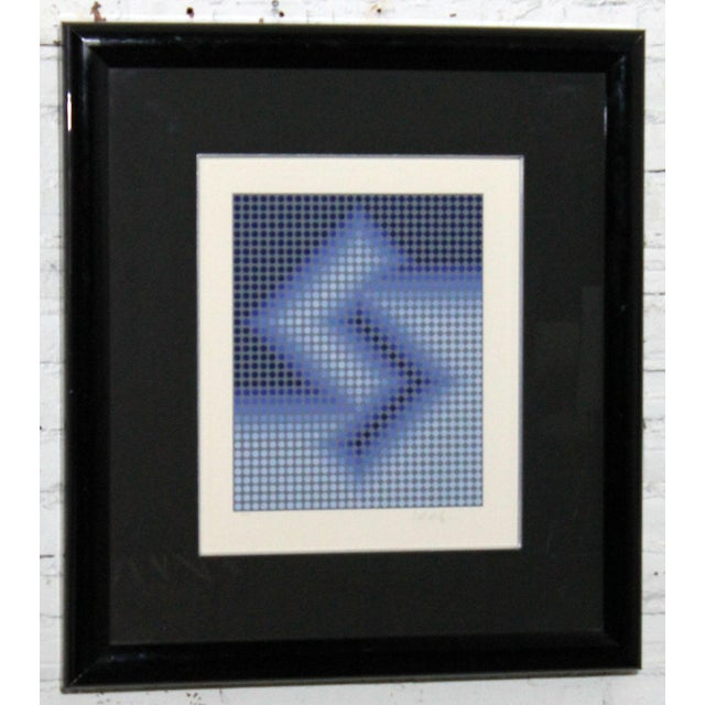 Sembe by Victor Vasarely Serigraph in Color Pencil Signed Numbered For Sale - Image 5 of 9
