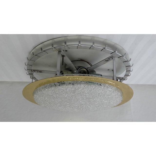Mid-Century Glass Tube Chandelier by Doria Lichtenwerken For Sale - Image 9 of 11