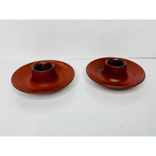 1950s Mid Century Danish Modern Laurids Lonborg Cast Iron Candle Holders - a Pair Preview