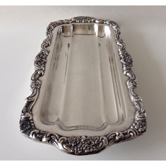 Georgian Style Towle Serving Tray For Sale In West Palm - Image 6 of 9