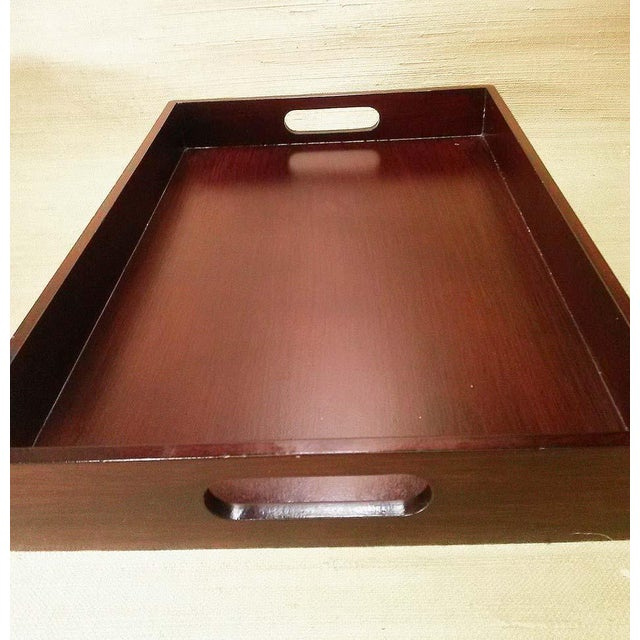 Wood Serving Tray & Bins - Image 5 of 6