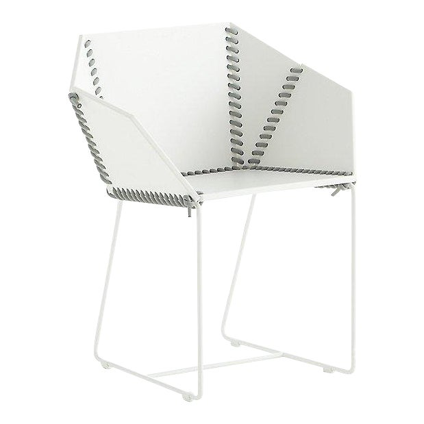 Gandia Blasco baseball stitch chairs are beautiful and weather resistant. They are perfect for sitting outside or for...