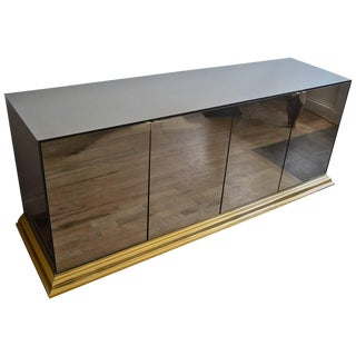 Mirrored Ello Credenza For Sale