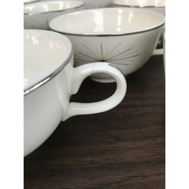 White Homer Laughlin Modern Star Dishes For Sale - Image 8 of 10