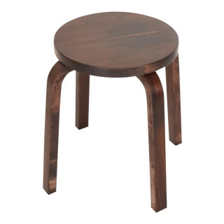 Mid Century Danish Modern, Rare Rosewood Stool by Alvar Aalto for Artek For Sale