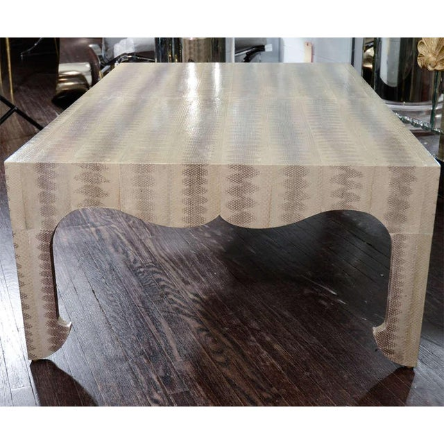 Custom Python Cocktail Table For Sale In New York - Image 6 of 9