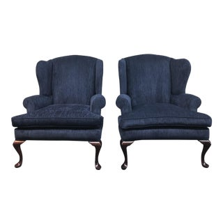 Century Furniture Wingback Chairs - A Pair
