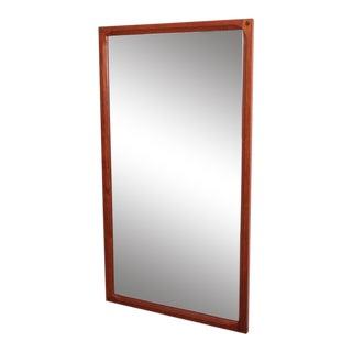 Aksel Kjersgaard Mirror in Teak by Odder in Denmark For Sale